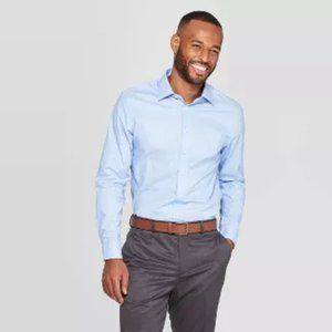 Goodfellow & Co. Mens Long Sleeve Dress Shirt